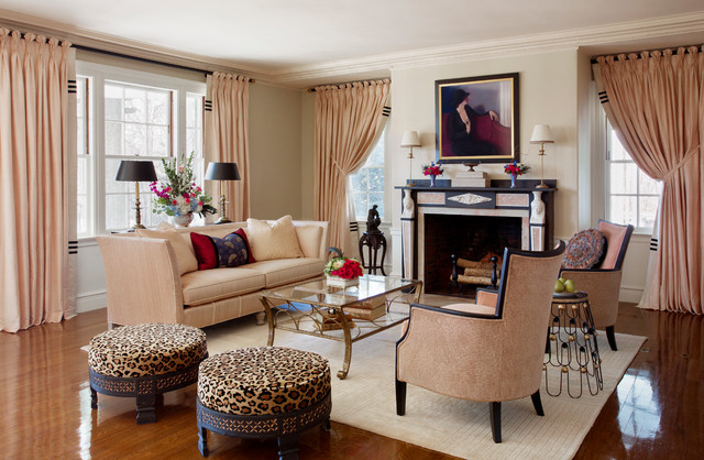 Art Deco With Egyptian Revival Neoclassical Roots Transitional Living Room
