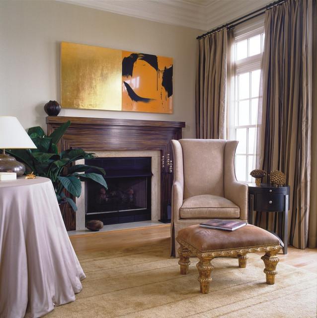 Art-Driven Design traditional-living-room