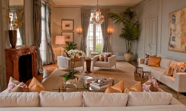 Arthur McLaughlin & Associates contemporary-living-room
