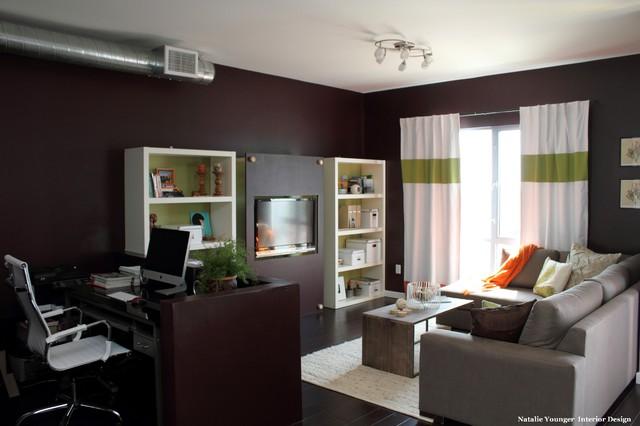 Artist Loft contemporary-living-room