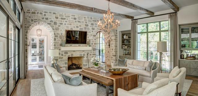 Living room - living room idea in Charlotte