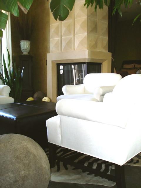 Artist's Loft - Orange County modern-living-room