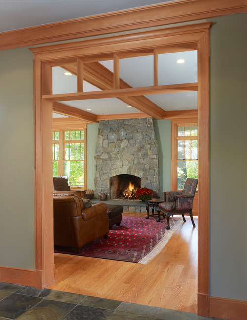What Is The Wall Paint Color amp Wood Trim Color
