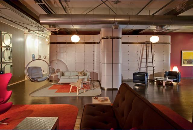 Arts District Loft modern-living-room