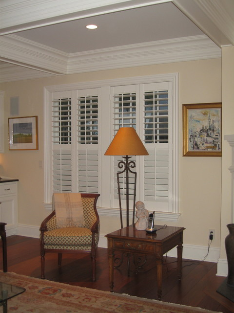 ASAP Blinds Residential Projects traditional-living-room