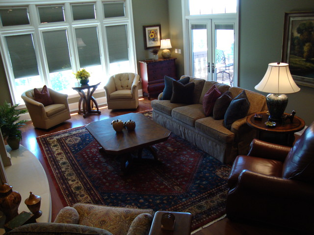 Asheville Nc Mountain House Traditional Living Room Charlotte By Interior Design Solutions