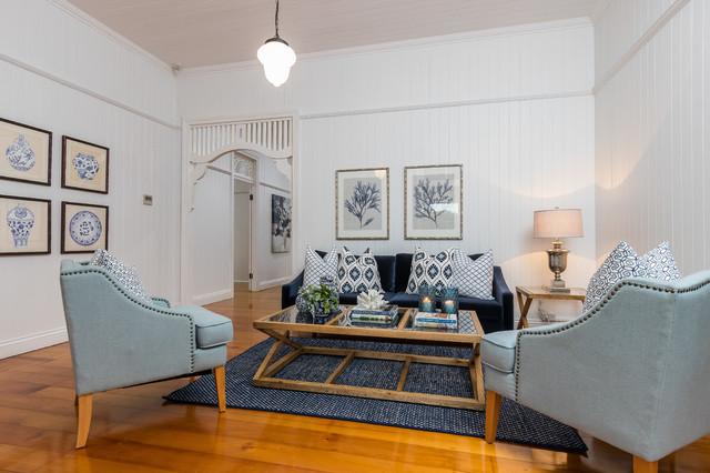 Ashgrove Queenslander - Beach Style - Living Room - Brisbane - By User | Houzz AU