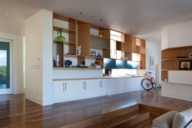 Ashland Ave modern-living-room