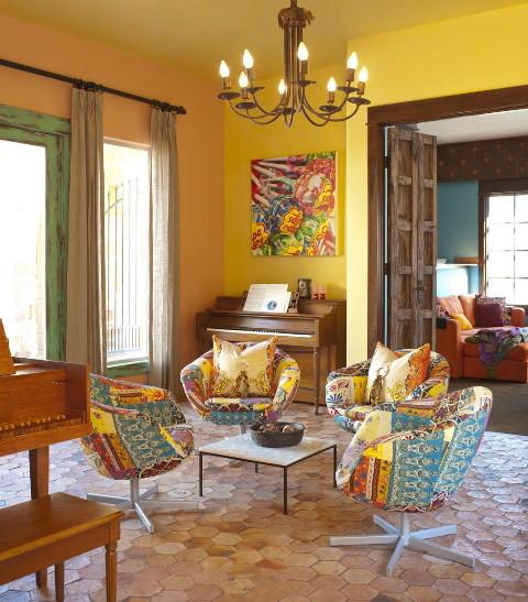 Ashley Astleford southwestern-living-room