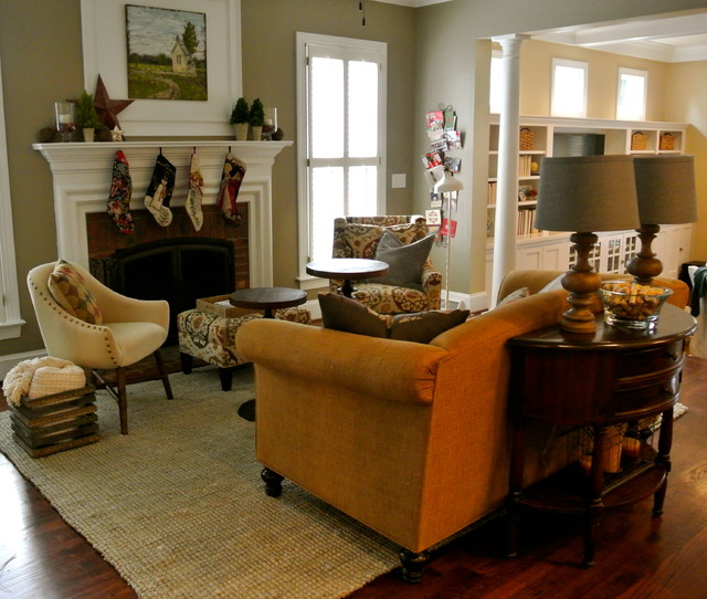 Ashley Drive Redesign Traditional Living Room