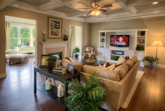 Ashton Woods Atlanta Living Rooms Traditional Room