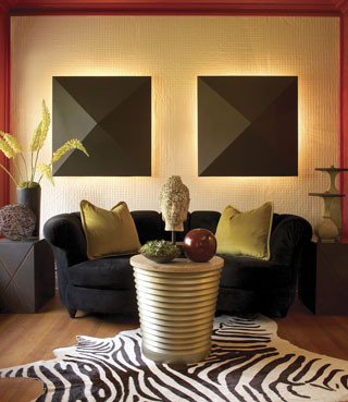 Asian contemporary fusion asian living room for Asian living room designs