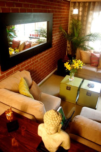 Asian Home Design asian-living-room