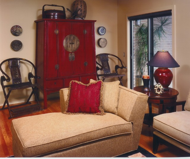 Example Of A Living Room Design In Minneapolis