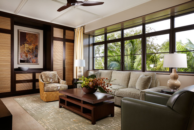 Asian Inspired Asian Living Room Other Metro By