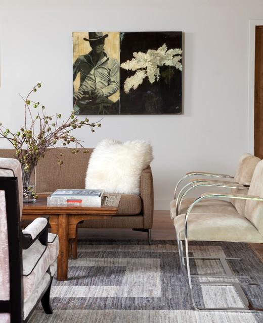 Aspen Mountain Modern rustic-living-room