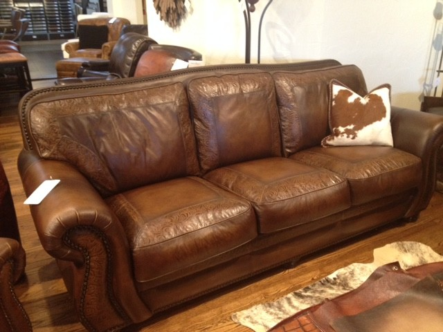Aspen Sofa Rustic Living Room Austin By Town Country Leather