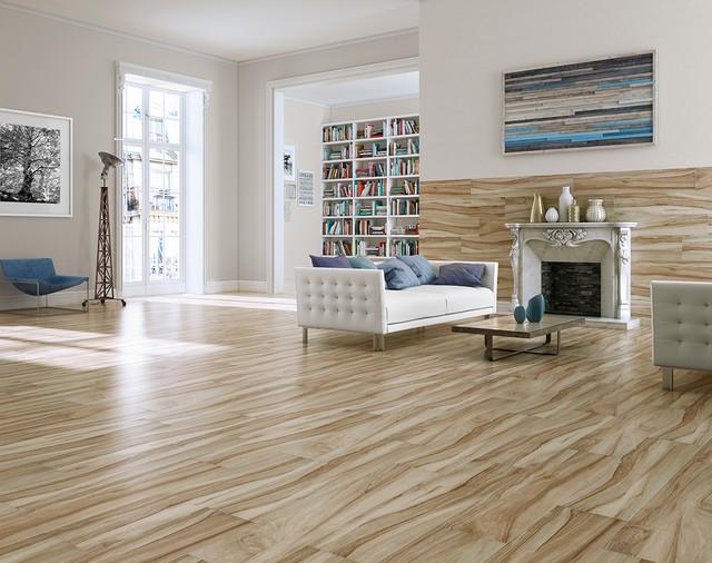 Aspenwood Amber Contemporary Living Room Orange