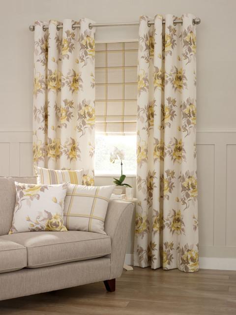 Aspire Ossett Butterscotch Living Room Curtains from Aspire ...