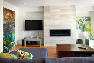 Asymmetrical Overhaul modern-living-room