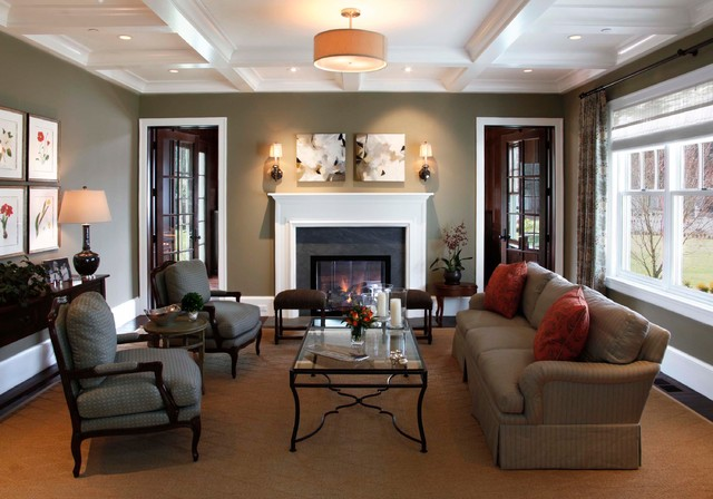 Atherton, California Luxury Home by Markay Johnson Construction contemporary-living-room