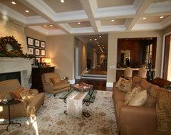 Atherton Holiday House Tour traditional-living-room