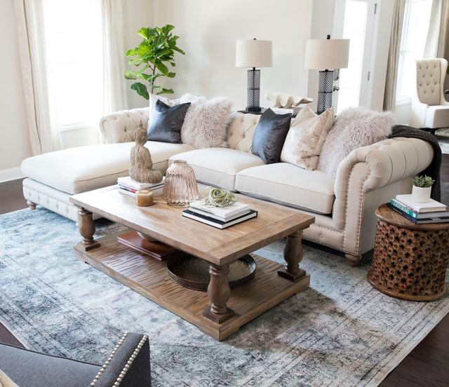 Atlanta Bungalow - Transitional - Living Room - Atlanta - by Brooke ...