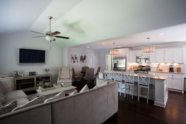 Atlanta Ga Home Renovation Traditional Living Room