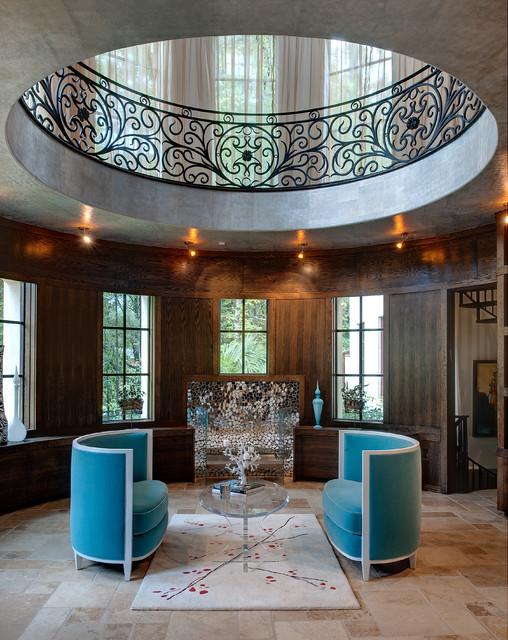 Atlanta Ga Mediterranean Living Room Atlanta By Tamara Bickley Design