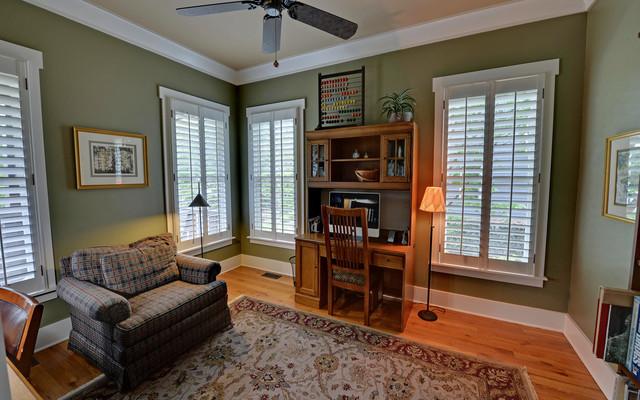 Atlanta georgia custom homes traditional living room for Atlanta custom home builders