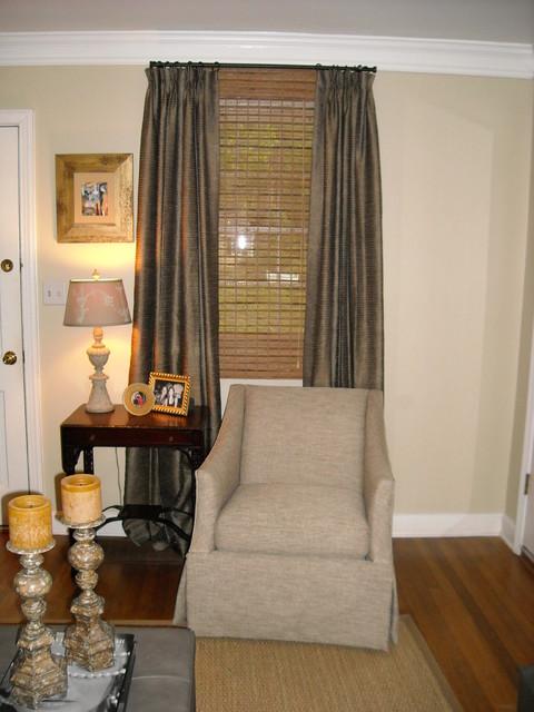 atlanta home traditional living room