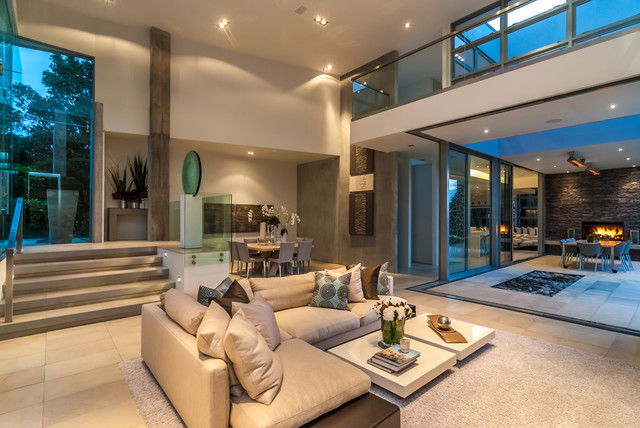 auckland homes for sale - contemporary - living room - auckland -