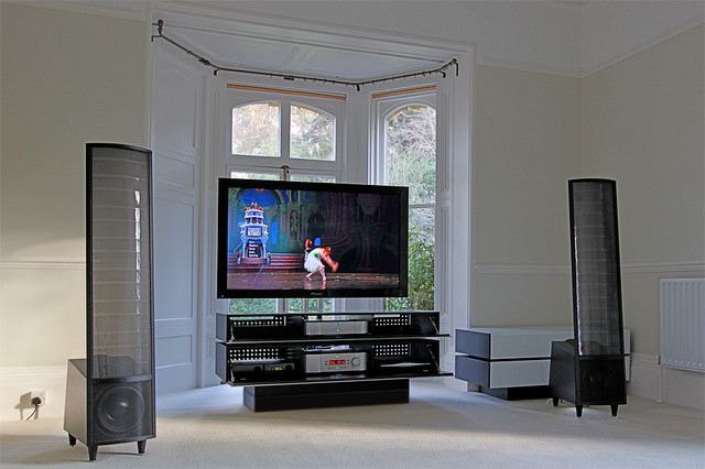 Audio And TV System And The Musician 39 S House