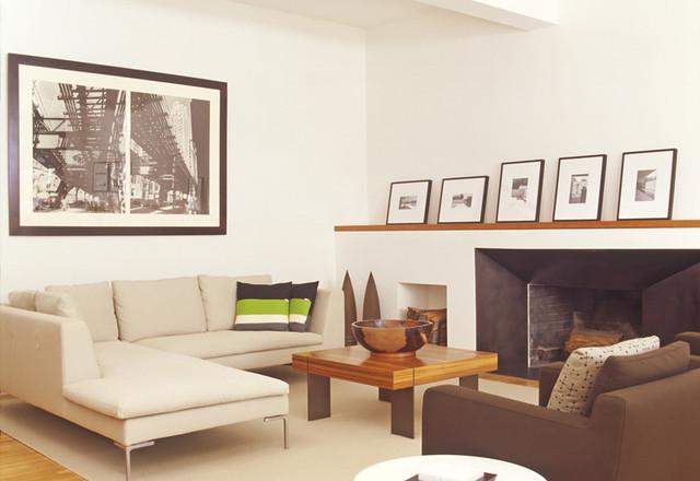 Audrey Matlock Architect modern-living-room