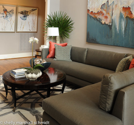 Augusta stylish casual living room other metro by for Augusta interior designs