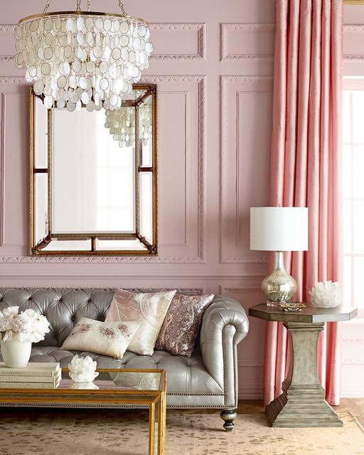 Aurora 3 Light Capiz Shell Golden Chandelier Living Room