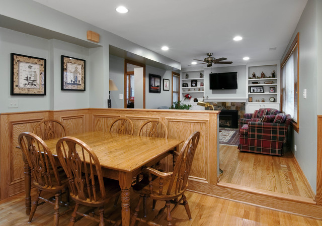 Aurora, Il    Living Room And Kitchen Design And Remodel ...