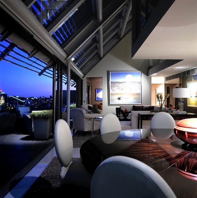 Aurora Penthouse contemporary-living-room