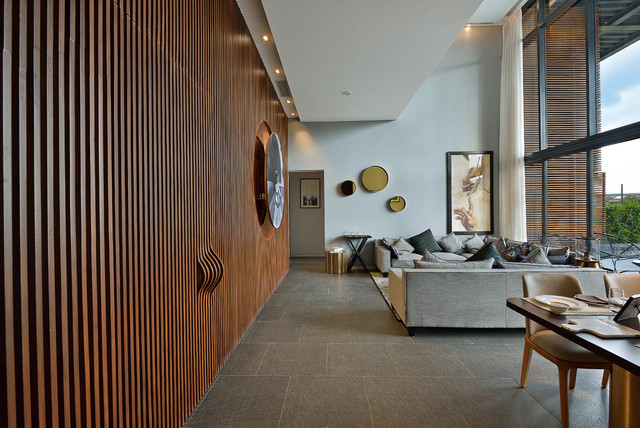 Aurus S Pavilion Contemporary, Wall Panels For Living Room