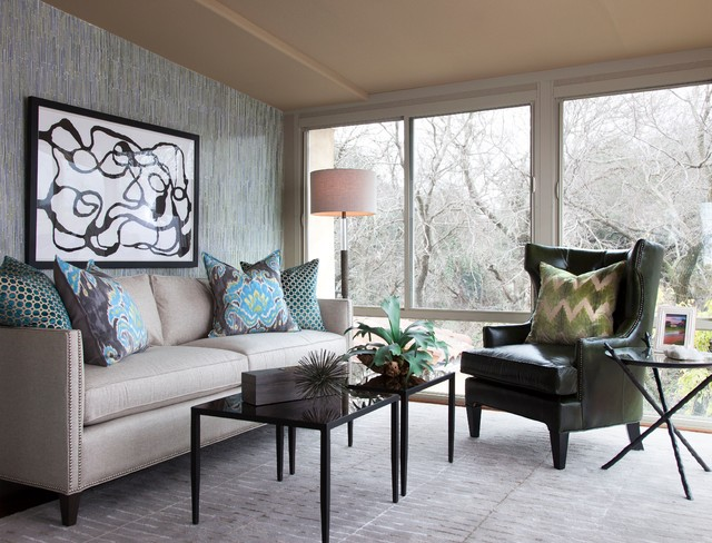 Austin Cater Home Transitional Living Room