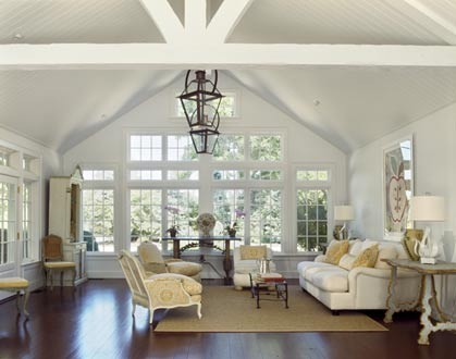 Talkative*TLC: Vaulted Ceilings