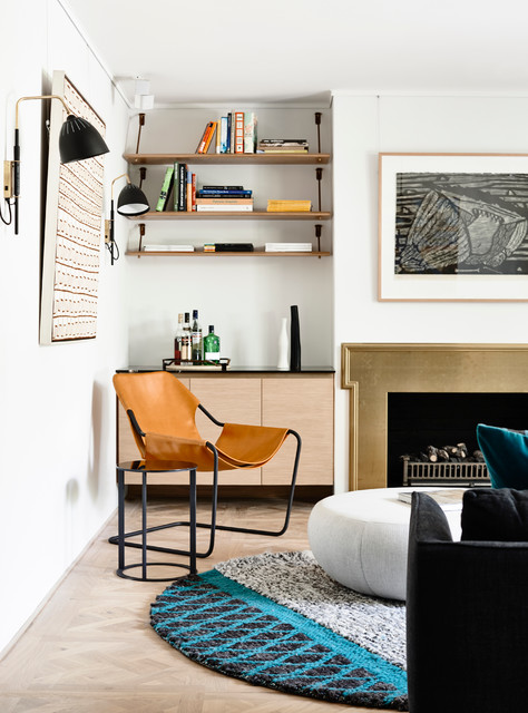Australian Interior Design Awards 2015 Scandinavian Living Room