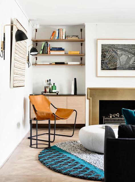 Australian Interior Design Awards 2015Scandinavian Living Room, Sydney