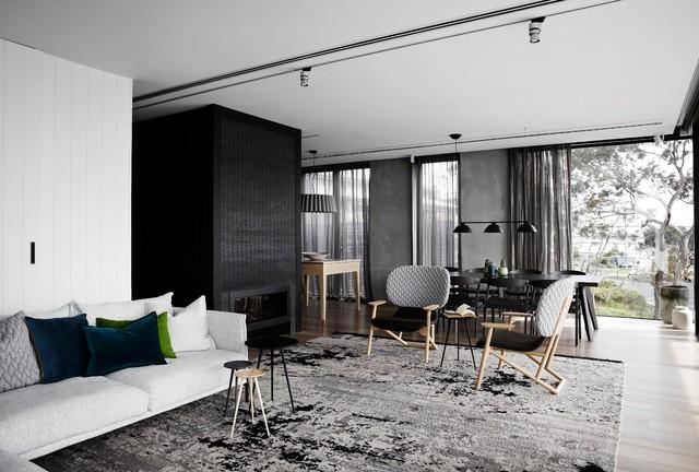 Australian Interior Design Awards 2015 - Scandinavian - Living Room ...