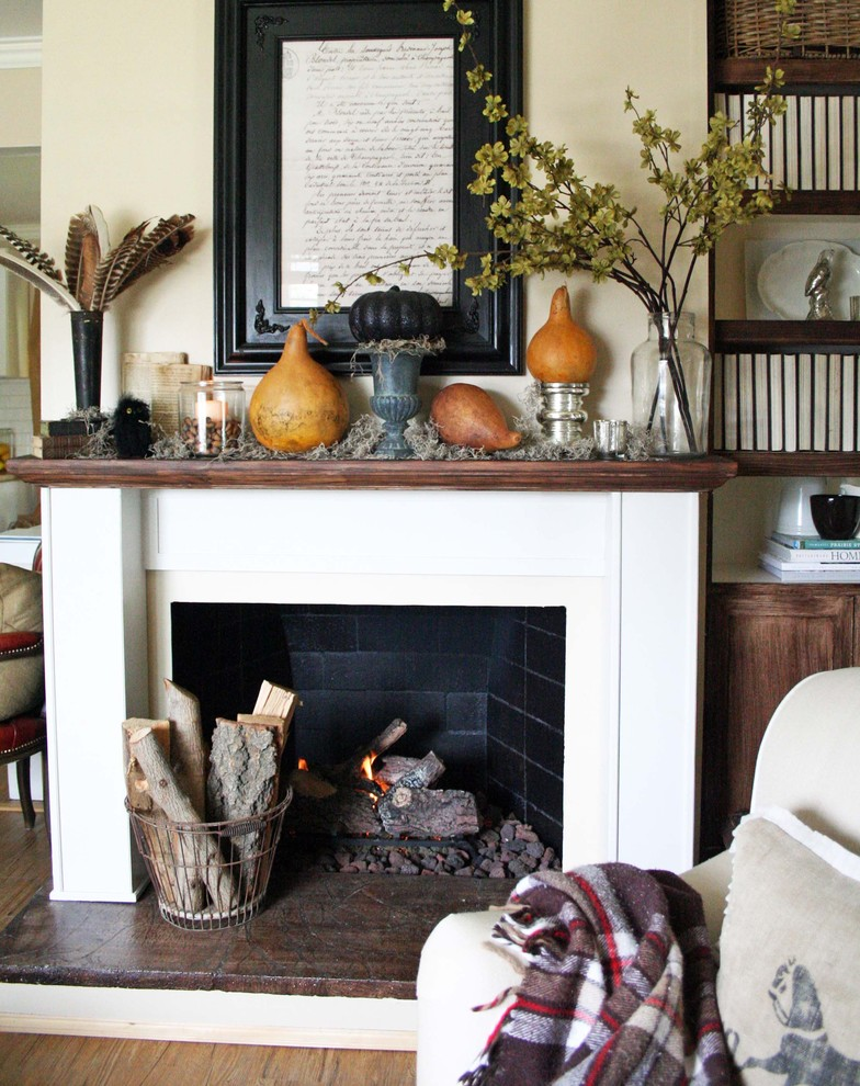 Autumn Mantel 2012