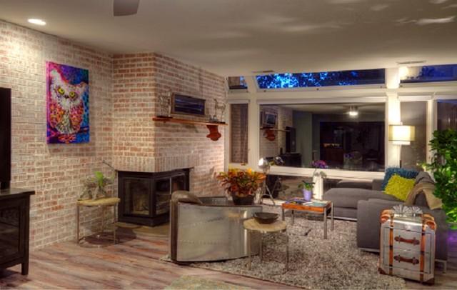 1 200 Square Foot Condo Remodel Contemporary Living
