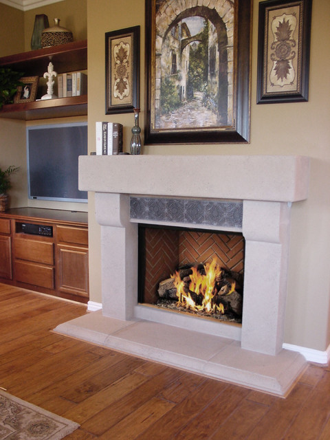 Family Room Fireplace Remodel Traditional Living Room San Diego By Fireside Design Center