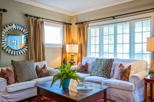 Avondale Historic Area Jacksonville Traditional Living Room Jacksonvil