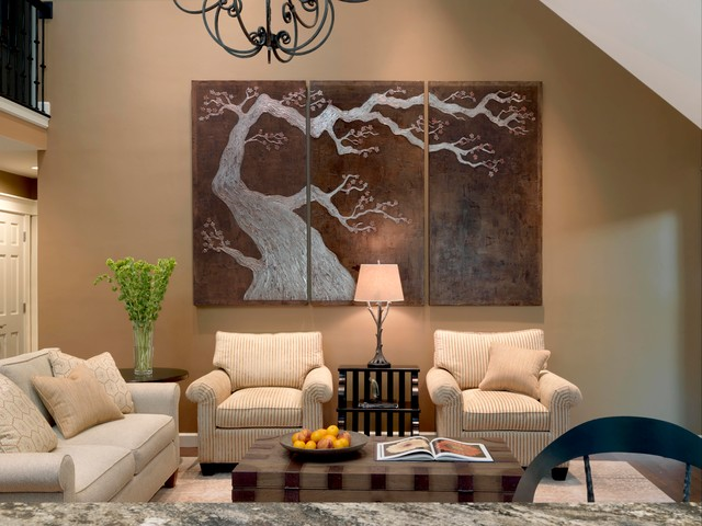 Award winning home for architectural finesse contemporary living room st louis by for Award winning living room designs