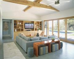 Award Winning Mid Century Modern contemporary-living-room